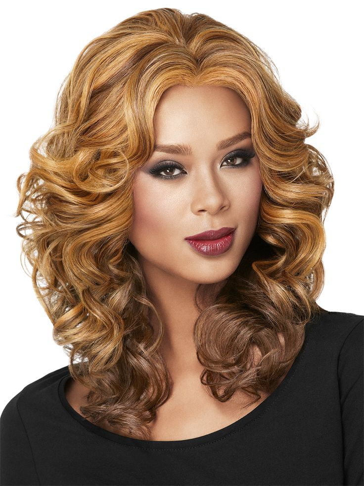 Casual Curl Lace Front Wig by LuxHair #voguewigs #hairobsessed