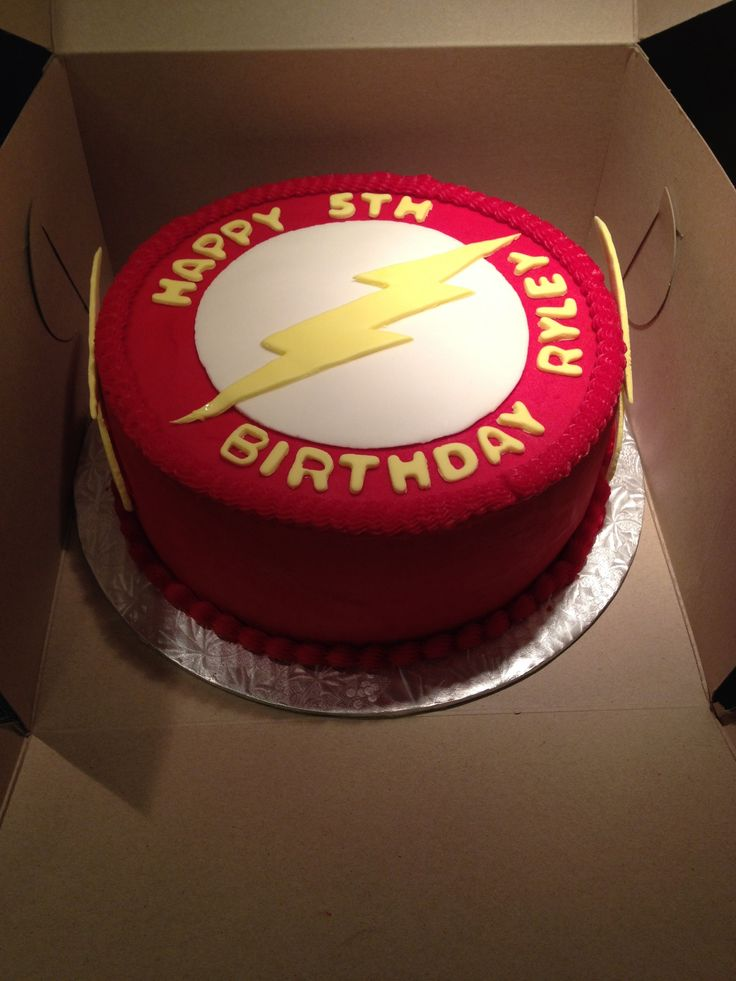 The Flash Cake My Creations Pinterest Birthday