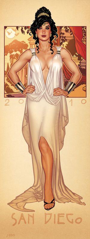 COVER RUN Wonder Woman by AdamHughes.deviantart.com on @deviantART