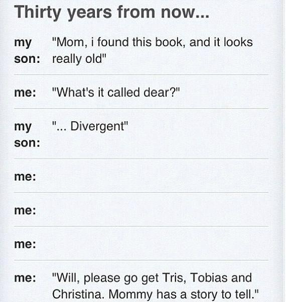 Yep, my kids will be named after characters from my favourite books :D