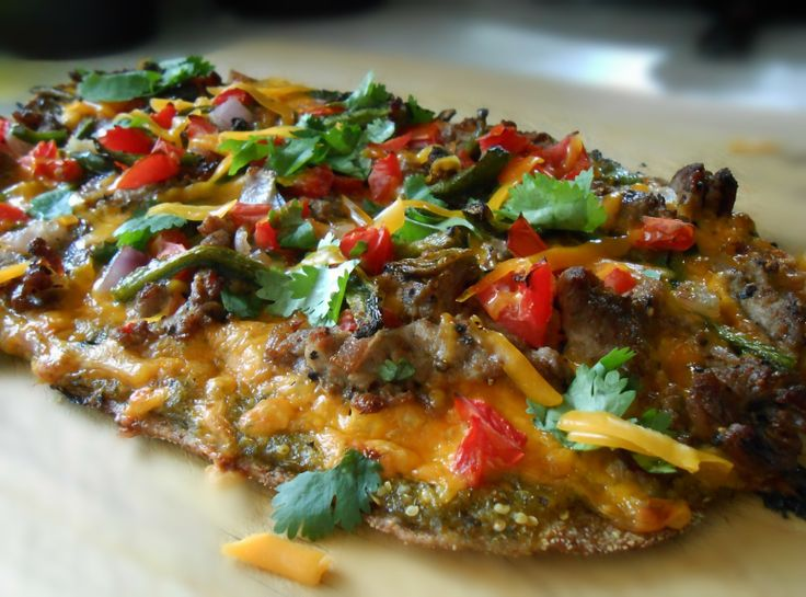 Yum... I'd Pinch That! | Grilled Mexican Pizza