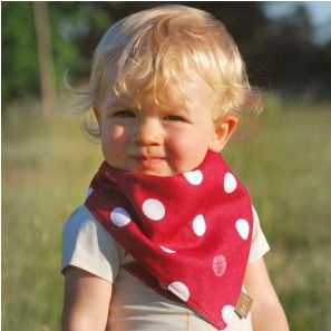 Baby Shower Gift on Cool Mom Picks: kerchief bib