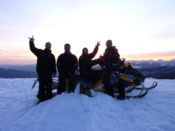 My sister and I went for a 1/2 day ride a couple cool guys we met, this is on top of turbo shute.