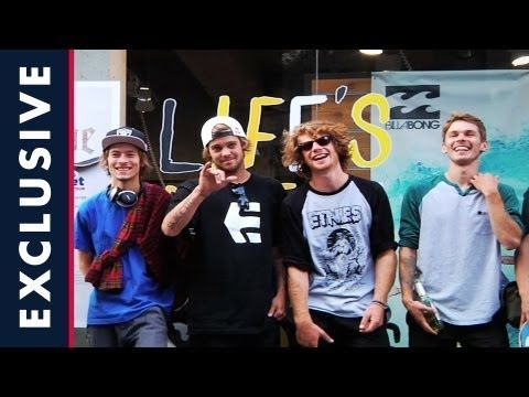 Sheckler Sessions - Planes, Trains, and Skateboarding - Episode 5