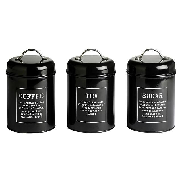 1000 ideas about tea coffee sugar canisters on