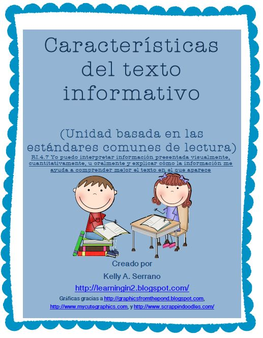 Non-Fiction Text Features Unit (Spanish)/Características de textos informativos