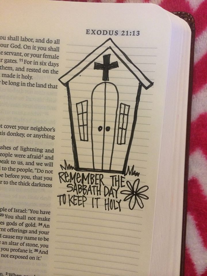 MS woman's Bible illustrations go viral - WDAM-TV 7-News, Weather, Sports-Hattiesburg, MS
