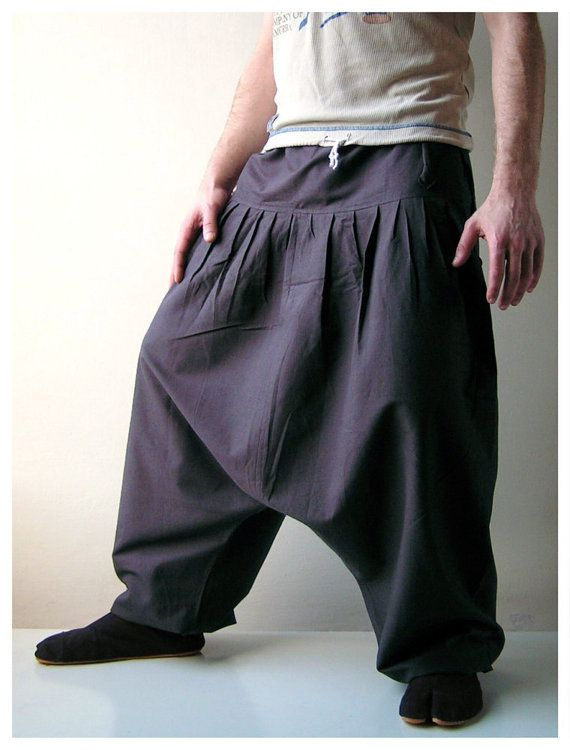 Harem Pants Aladdin Pants Harem Trousers Yoga by manaKAmana