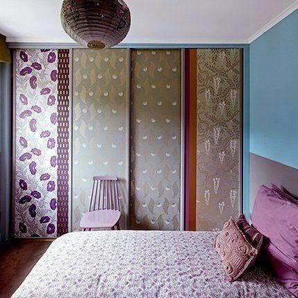 casa de fifia blog de decoração : GUARDA ROUPA RENOVADO COM PAPEL DE PAREDE