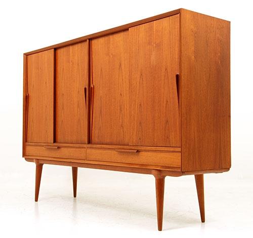 Omann Jun Danish Modern Teak Sideboard   1,900 bucks: Midcentury