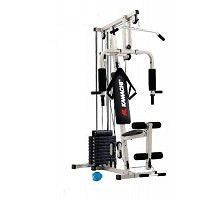 https://flic.kr/p/F5WfZN | home-gym33._kamachi-home-gym-hg-33-with-ab-exer-made-in-taiwan |  Seated Bench Press    Butterfly (Pac-Deck)    Lot Pull Back    Lot Pull Front    Bentover Pulley    Leg Extensions    Leg Curl (Single Leg)    Triceps Extensions    Preacher Curl    Forearm Curl    Military Press    Bear Deltoids    Crunches  Ab Exercise. Click For More : www.healthgenie.in/kamachi-multi-home-gym-hg-33-4-station