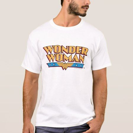 Wonder Woman Logo 2 T-Shirt - click to get yours right now!
