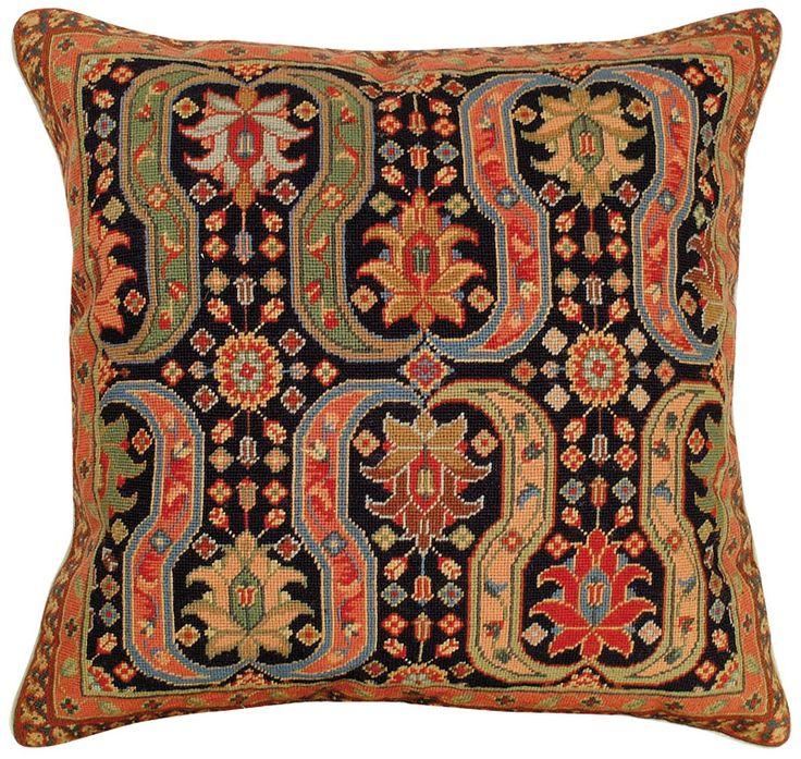 Needlepoint Afshar I Pillow