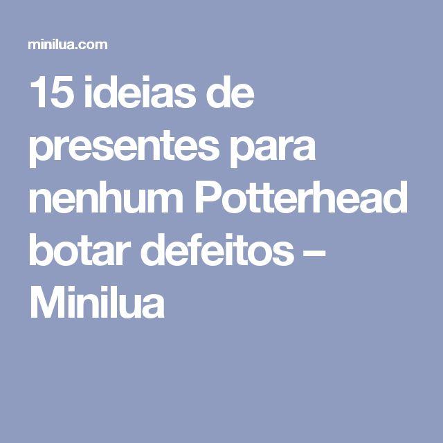 15 ideias de presentes para nenhum Potterhead botar defeitos – Minilua