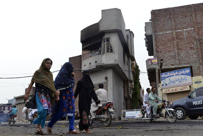 I love the smell of religion in the morning | A 55 year old woman and two of her granddaughters, 7 years old and 8 months old, were killed when a rampaging mob torched their neighborhood because a teenager belonging to their sect posted a picture on Facebook | '3 Killed in a Facebook Blasphemy Rampage in Pakistan' | NYTimes.com