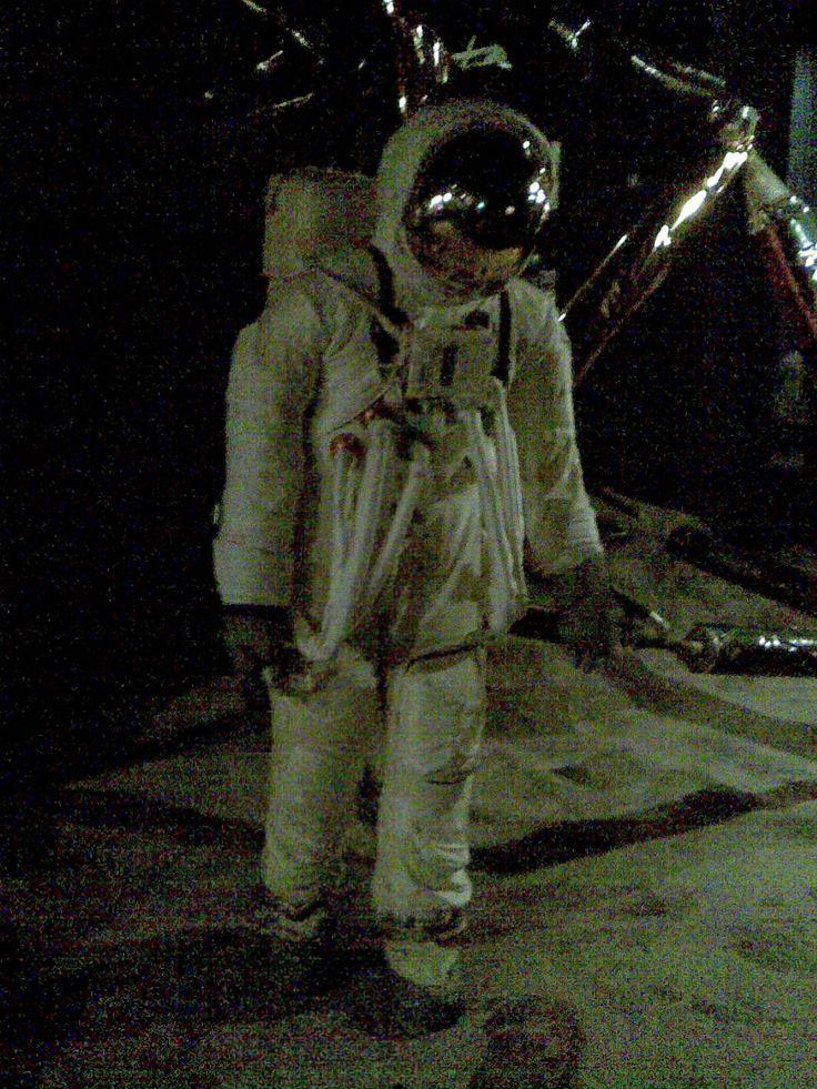 Replica NASA space suit