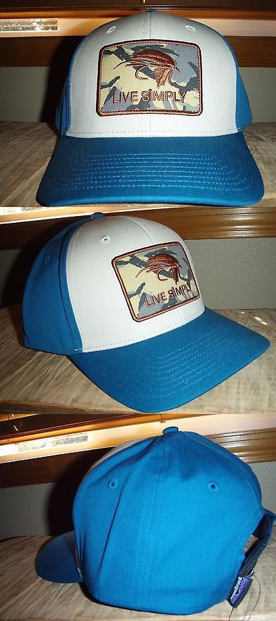 Hats and Headwear 70810: Patagonia Live Simply Fly Fishing Roger That Hat -> BUY IT NOW ONLY: $85.0 on eBay!