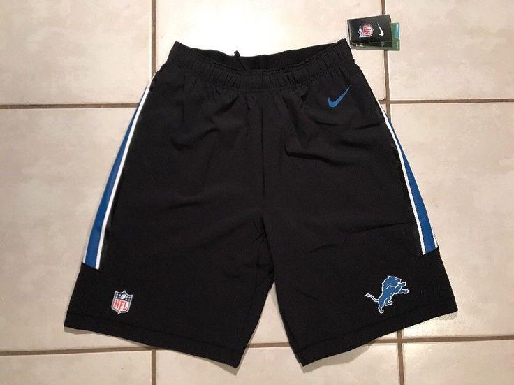NWT NIKE NFL ON FIELD Detroit Lions Shorts Men's XL MSRP $75  | eBay