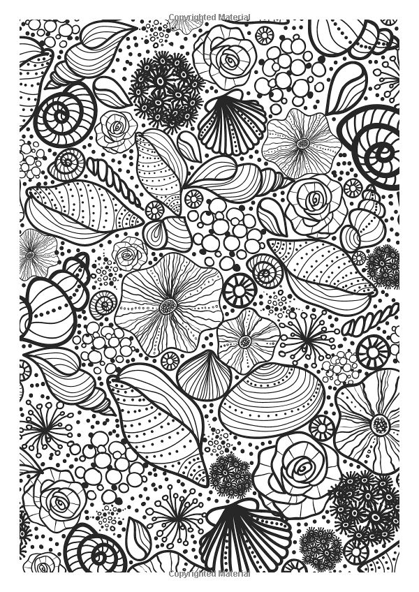 Shells Underwater Coloring Page If Youre In The Market For