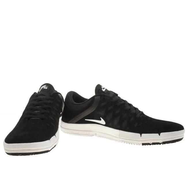 Nike SB libre Sb Negro / Blanco \u2013 Nike SB Zapatos de hombre