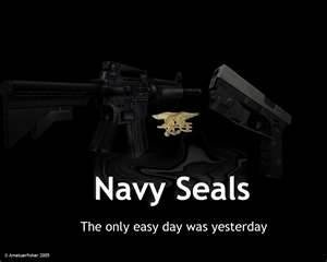 United States Navy Seal motto