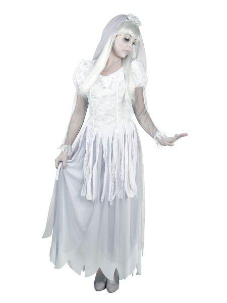 """https://11ter11ter.de/60481328.html Kostüm """"Zombiebraut"""" für Frauen #Karneval #Fasching #Mottoparty #11ter11ter #Outfit #Kostüm #Partnerkostüm #Twins #Zombie"""