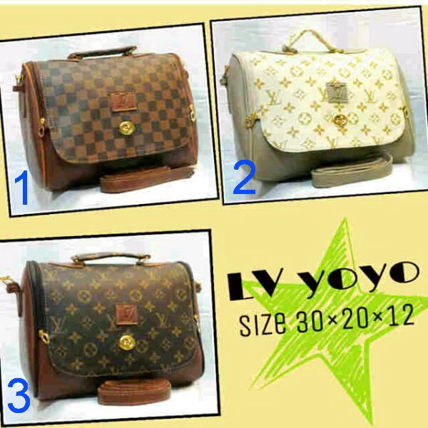 PL26 LV Yoyo Bag – Woman Rp 100.000,- (Size 30 x 20 x 12 cm)  For your information, please contact: Email: jjbigstore@yahoo.com atau cs@silvblue.com YM: jjbigstore Path & Pinterest: Silvblue Shop BBM Channel, Instagram & Twitter: @silvblue We Chat, Kakao, Line: silvblue Pin BB: 7E6975D4 SMS: 0818 0832 9022,021 94185123 WhatsApp 0896-2860-9094 FB: http://www.facebook.com/silvblue Website: http://www.silvblue.com/ Blog: http://www.jjbigstore.wordpress.com/