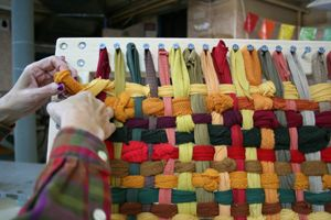 Telar para alfombras de trapillo