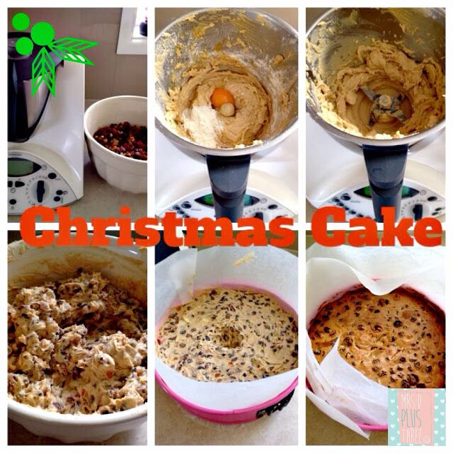 Nigella Lawson's #Christmas #Cake #Recipe - converted to Thermomix