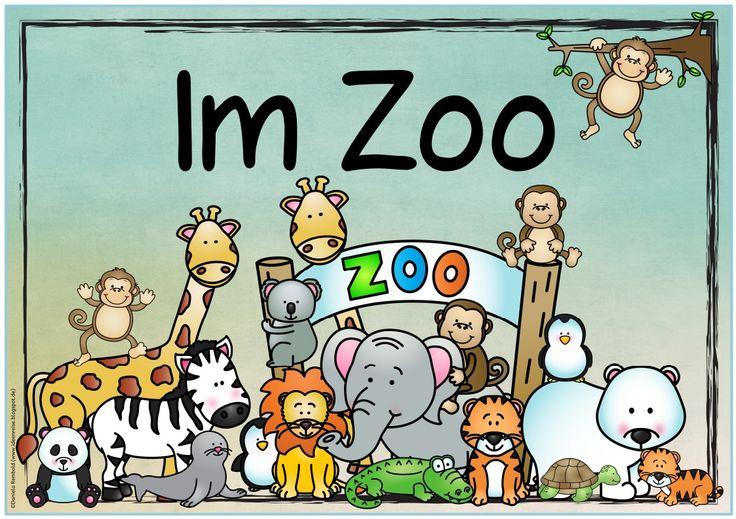 """Das nächste Themenplakatist fertig   Gewünscht wurde ein Plakat zum Thema """"Im Zoo"""" bzw. """"Im Tierpark"""". Hier  gibt es das neue Plakat in me..."""