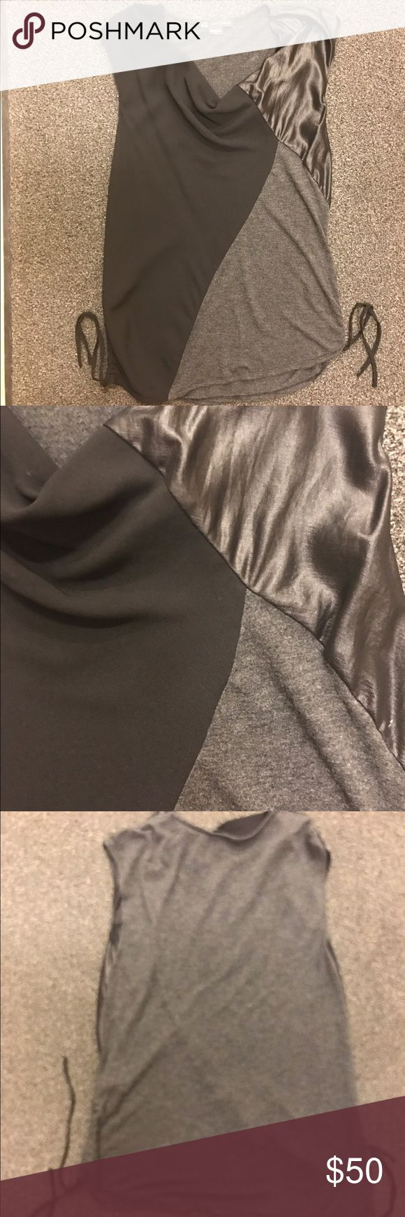 Selling this AX Armani Exchange small grey top with tie sides on Poshmark! My username is: wendydelker. #shopmycloset #poshmark #fashion #shopping #style #forsale #A/X Armani Exchange #Tops