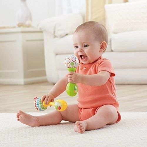 Baby Toddler Musical Toy Learning Play Activity Infant Toy Maracas Rattles Sound #BabyToddler
