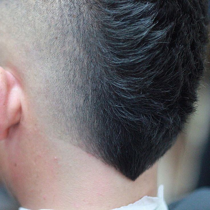 Nice New Hairstyles For Men: The V Shaped Neckline | Pinterest | Trendy  Hairstyles, Neckline And Mohawks