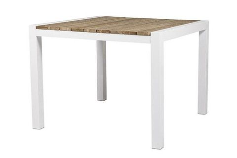 Cancun Ali Rustic Teak Dining Table, in 2 sizes - Complete Pad ®