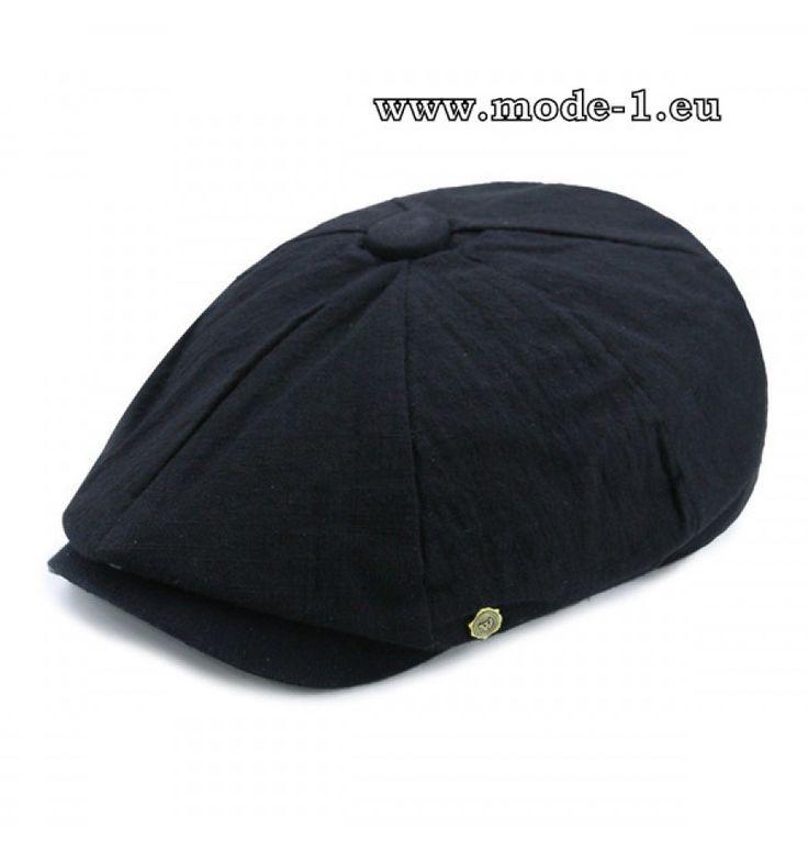 Herren Stetson Hut Schirmmütze in Schwarz