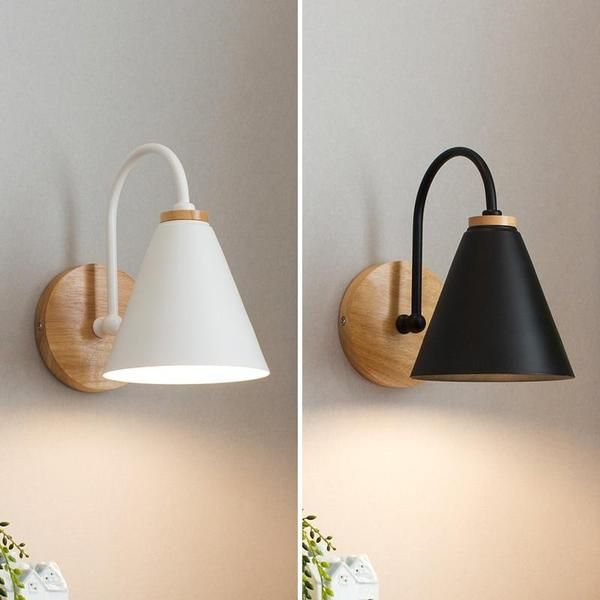 Greer Modern Nordic Wall Lamp Warmly In 2020 Wooden Wall Lights Wall Lamps Bedroom Wall Lights Bedroom