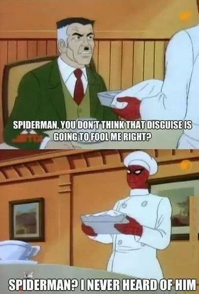 Who's Spider-Man?  // funny pictures - funny photos - funny images - funny pics - funny quotes - #lol #humor #funnypictures