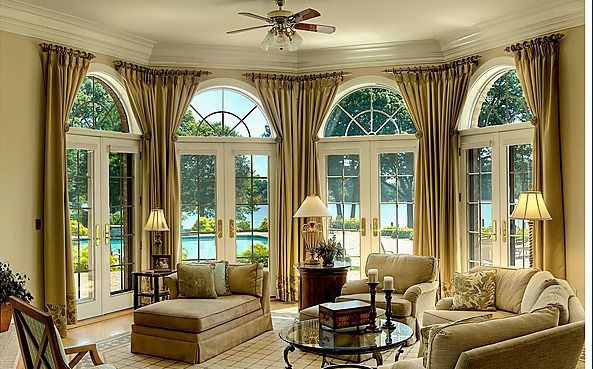 Window Treatments For Bay Windows | Wondering What to Do With Bay Windows? » Josef Hudson Home ...