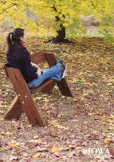 DIY Woodworking Ideas Plans to build your own Leopold bench for birdwatching and nature photography | ...