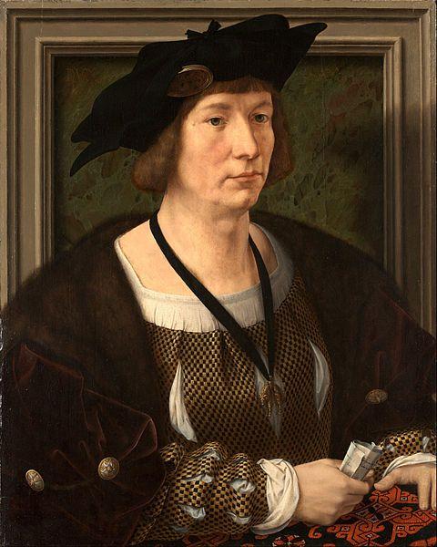 File:Jan Gossart, called Mabuse - Portrait of Hendrik III, Count of Nassau-Breda - Google Art Project.jpg