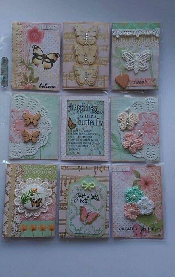 butterflies & crochet