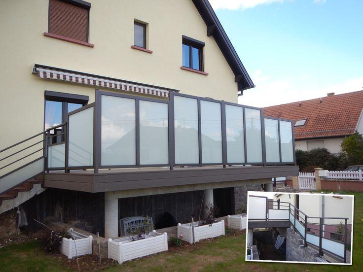 Les 25 meilleures id es concernant panneau brise vue sur - Brise vue en verre pour terrasse ...