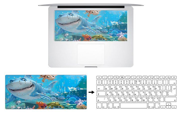 HRH Animals Marine Corps Isreal Hebrew Rubber Keyboard Cover Protector For Macbook Air Pro Retina13 A1278 15 17 US EU Layout
