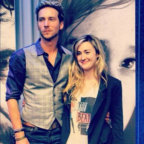 Troy Baker and Ashley Johnson - the voices of Joel and Ellie - The Last Of Us.