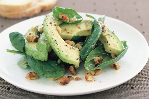 Four simple ingredients is all it takes to create this nutritious avocado side salad.