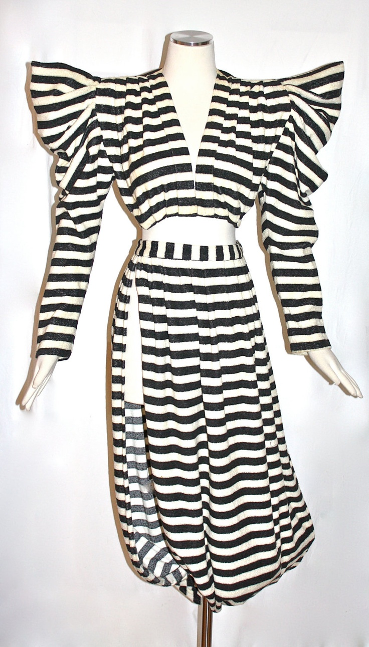 // vintage Norma Kamali, from my new ETSY BLOG post: http://www.etsy.com/blog/en/2012/story-board-factory/
