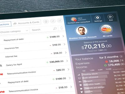 The Future Concept Of Online Banking. Quick Access animation. by Arcana
