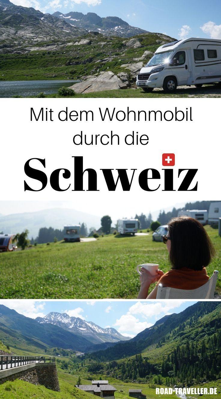 Mit dem Wohnmobil durch die Schweiz: Tipps und Campingplätze