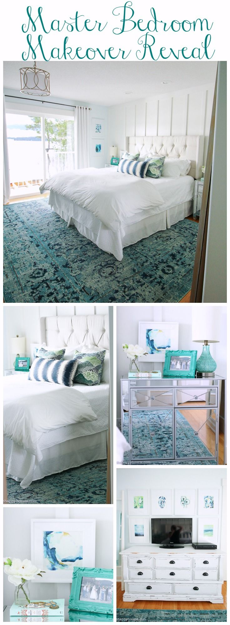 Beautiful painted master bedrooms - Master Bedroom Makeover Reveal A 250 Minted Giveaway