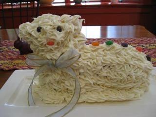 Easter Lamb Cake / <i> Torta di Agnello</i>